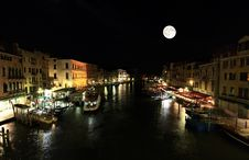 Free The Grand Canal In Venice Royalty Free Stock Photos - 5591818