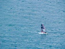 Free The Windsurfer Royalty Free Stock Images - 5592519
