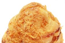 Free Chicken Floss Bun Stock Photography - 5592922