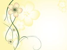 Free Abstract Floral Design Royalty Free Stock Image - 5592956