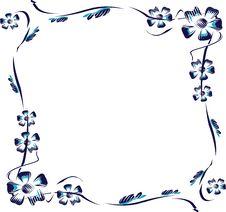 Free Framework From  Flowers Stock Photo - 5593680