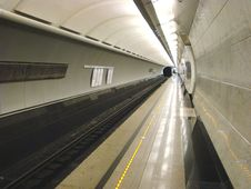 Free Platform Of Station Of Underground Stock Photography - 5593962
