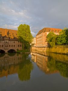 Free Evening In Nuremberg Royalty Free Stock Photos - 5594088