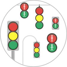 Free Traffic Light Stock Photos - 5594943