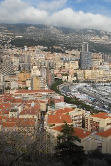 Monaco And Monte-Carlo Royalty Free Stock Photo