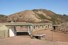 Free Fort Baker - Battery Spencer 2 Stock Photography - 5595392