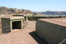 Free Fort Baker - Battery Spencer 3 Stock Photo - 5595400