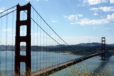 Free Golden Gate Bridge Royalty Free Stock Photo - 5595585