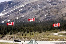 Free Columbia Icefields. Royalty Free Stock Photos - 5595888