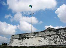 Free Bahamian Flag Royalty Free Stock Photography - 5595947
