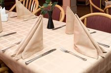Free In The Restaurant Royalty Free Stock Photo - 5596055