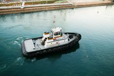 Free Tug Boat Royalty Free Stock Photography - 5596157