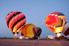 Hot Air Balloons Flight Royalty Free Stock Photo