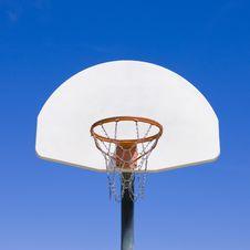 Free Basketball Hoop In Park Stock Image - 5596631