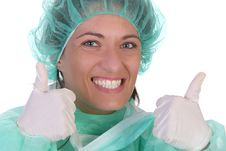 Successful Healthcare Worker Royalty Free Stock Photography
