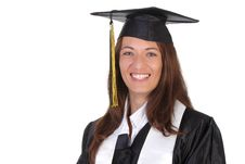 Free Happy Graduation A Young Woman Royalty Free Stock Photo - 5597255