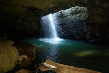 Natural Bridge, South-East Queensland, Australia Stock Photos
