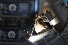 Free Weld Side Royalty Free Stock Image - 5597586