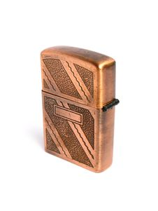 Free Bronze Lighter Royalty Free Stock Photos - 5597728