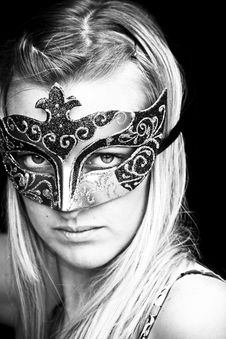 Free Masked Woman Stock Photography - 5597732