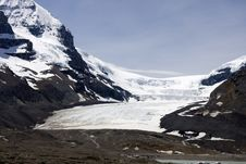 Free Columbia Icefields. Stock Images - 5598124