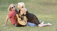 Rock And Roll Couple Royalty Free Stock Photography