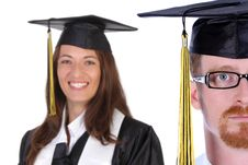 Free Graduation A Young Man Stock Photos - 5598753