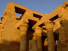 Free Temple Of Kom Ombo Stock Image - 5599271