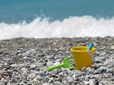 Free Toy Bucket Beach Royalty Free Stock Photo - 5599535