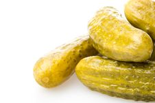 Free Pickled Gherkins Royalty Free Stock Photo - 5599695