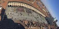Free Piazza Ducale Of Vigevano Royalty Free Stock Photo - 5599725