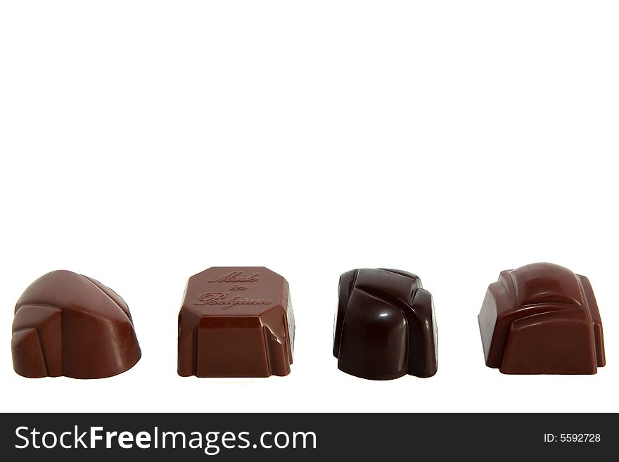 Row of Luxury Chocolates 2