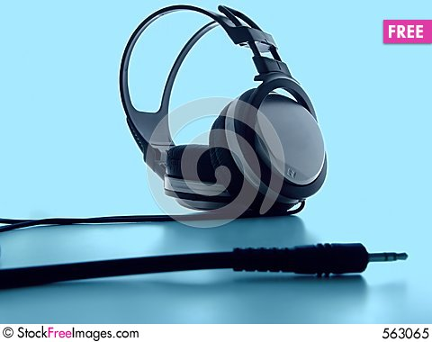 Free Headphones Royalty Free Stock Photo - 563065