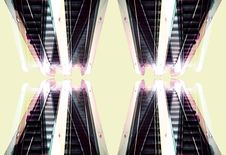 Free Four Escalators Royalty Free Stock Images - 560499