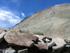 Free Preyer Stones In Ladakh Stock Photography - 560702
