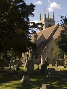 Free Churchyard Royalty Free Stock Images - 560869