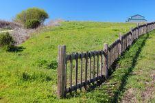 Free Springtime Coastal Meadow Stock Image - 561871