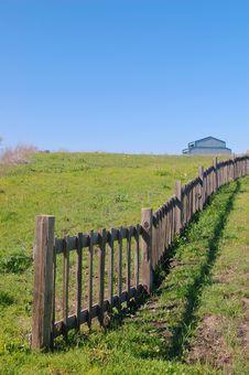 Free Springtime Coastal Meadow Royalty Free Stock Photo - 561955