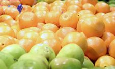 Free Oranges And Apples Royalty Free Stock Image - 562456