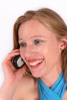Free Make That Call! Royalty Free Stock Photo - 562535