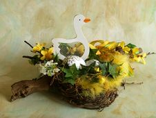 Free Easter Nest Stock Image - 564001