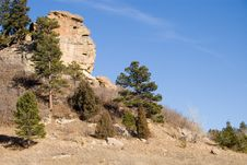 Rock Formation Face Royalty Free Stock Images