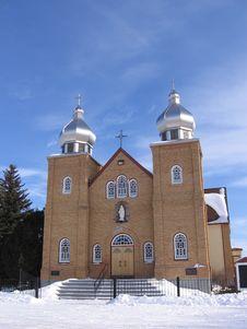 Free Ukrainian Church Royalty Free Stock Photos - 564908