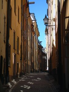Free Street In Stokholm Stock Images - 566044