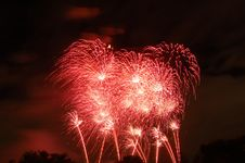 Free More Red Fireworks Stock Photos - 566283