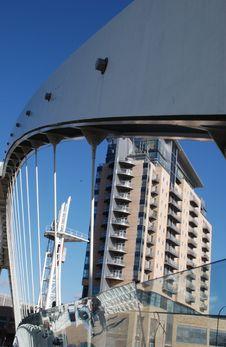 Free Modern Buildings,Salford Royalty Free Stock Photos - 569138