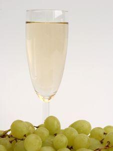 Free White Wine Royalty Free Stock Photos - 569518