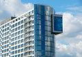 Free Blue Office Building Stock Image - 5605491