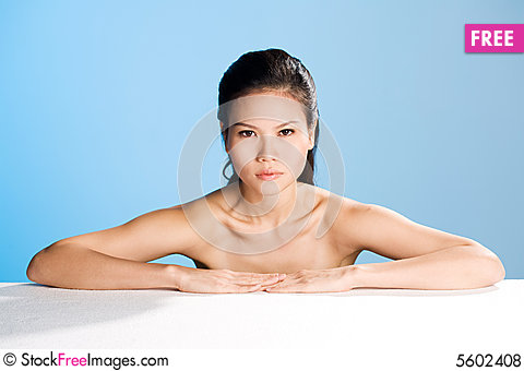 Free Fresh Clean Face Of Young Woman Royalty Free Stock Photos - 5602408