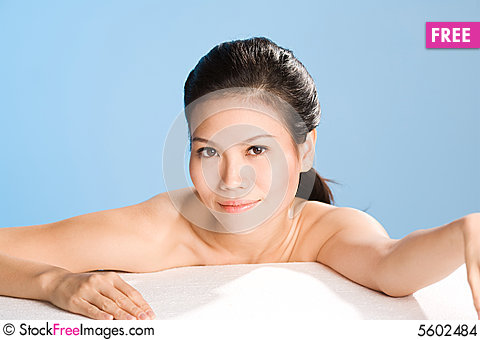 Free Fresh Clean Face Of Young Woman Stock Images - 5602484